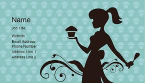 Food, Beverage & Restaurant Business Card 6