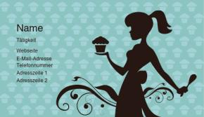 Gastronomie & Restaurants Visitenkarte 62