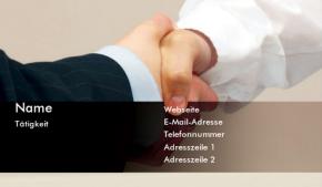 Business & Consulting Visitenkarte 30