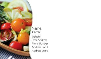 Food, Beverage & Restaurant Business Card 3