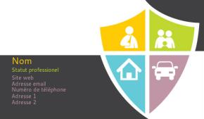 Finance et Assurance Carte de visite 105