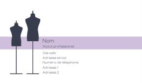 Commerce et e-Commerce Carte de visite 109
