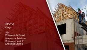 Construção & Terceirização Cartão de Visita 32