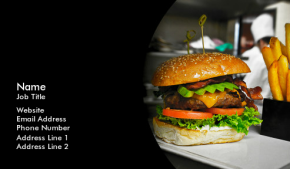 Food, Beverage & Restaurant Business Card 8