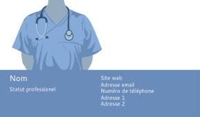 Santé et Sécurité publique Carte de visite 58