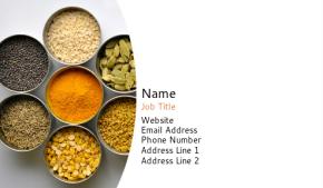 Food, Beverage & Restaurant Business Card 5