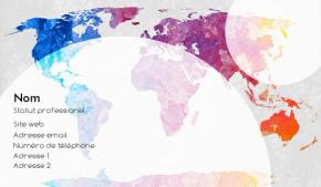 Voyage et Tourisme Carte de visite 112