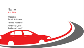 Automotive & Transportation Business Card 18