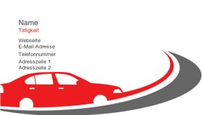Automobilbranche & Transport Visitenkarte 18