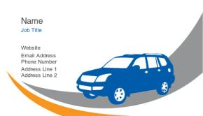 Automotive & Transportation Business Card 6