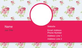 Beauty & Massage Business Card 33