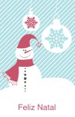 Datas comemorativas e ocasiões especiais holiday card 17
