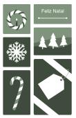 Datas comemorativas e ocasiões especiais holiday card 82