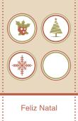Datas comemorativas e ocasiões especiais holiday card 11