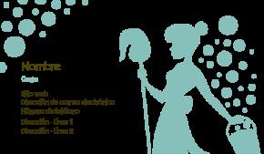 Mejoras y limpieza del hogar Tarjeta Profesional 34