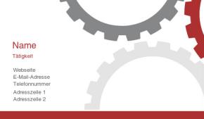 IT/Maschinenbau Visitenkarte 23