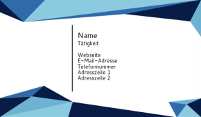 IT/Maschinenbau Visitenkarte 19