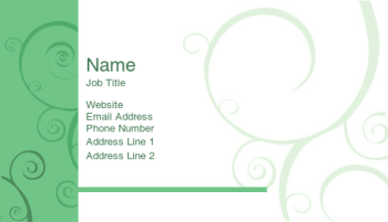 Home Improvement & Cleaning Business Card 1