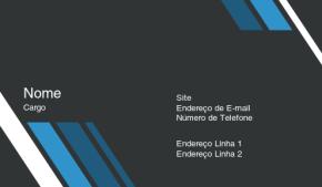 Negócios & Consultoria Cartão de Visita 3
