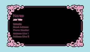 Beauty & Massage Business Card 12