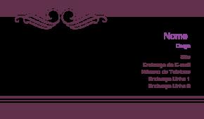 Beleza & Massagem Cartão de Visita 39