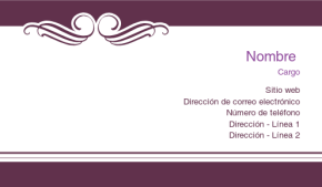 Belleza y masajes Tarjeta Profesional 39