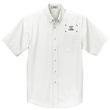 Kurzärmlige Button-down-Hemden