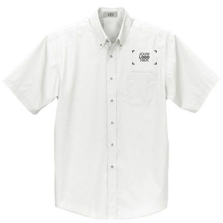 Korte mouwen button-down shirts
