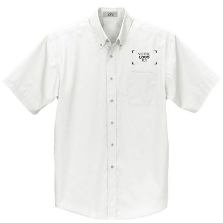 Chemises à boutons et à manches courtes