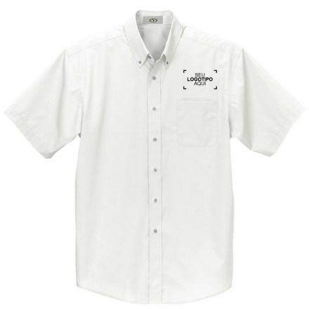 Camisas de manga curta com botões