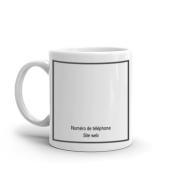 Tasses personnalisées votre design 3