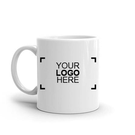 Ceramic Mug with a sample logo design