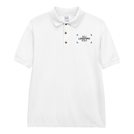 Camisas Polo Masculinas com Bordado