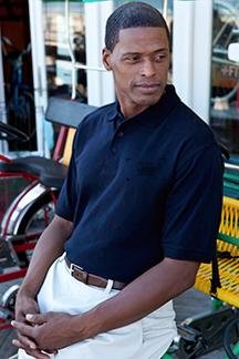 Men's Navy Polo Shirt