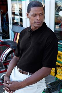 Men's Black Polo Shirt