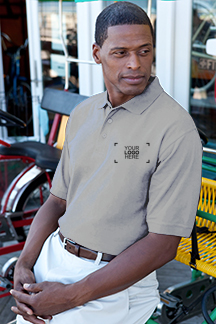 Men's Oxford Polo Shirt