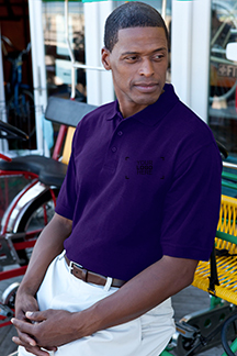 Men's Purple Polo Shirt