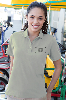 Women's Stone Polo Shirt