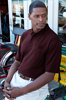 Men's Deepmaroon Polo Shirt