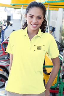 Women's Sunburst Polo Shirt