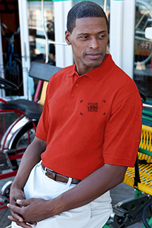 Men's Red Polo Shirt