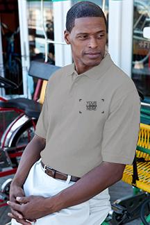Men's Stone Polo Shirt