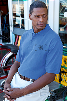 Men's Carolinablue Polo Shirt