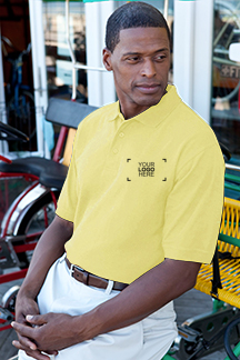Men's Sunburst Polo Shirt