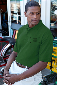 Men's Lawn Polo Shirt