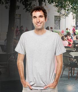 Custom Gray T-Shirt