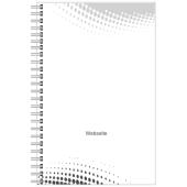 Notizbücher Entwurf hoch 4