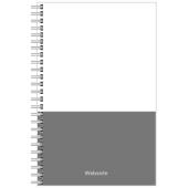 Notizbücher Entwurf hoch 9