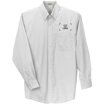 Langärmeliges Button-down-Hemd