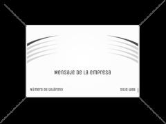 Pancartas Medianas diseño 3